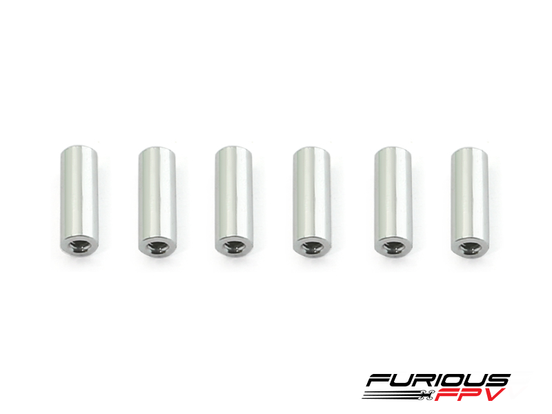 Aluminum spacer M2x10mm (6pcs) - Toretto 130