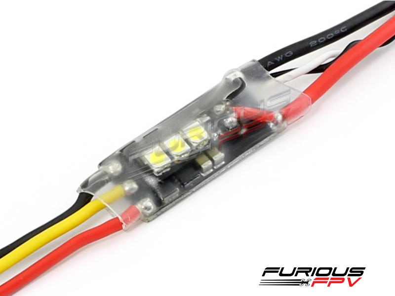 Furious FPV SILKY 20A BLHELI-S ESC w/ LED (White)