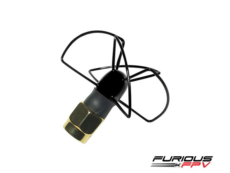 Furious FPV Antenna Pinwheel - LHCP - SMA (Black)