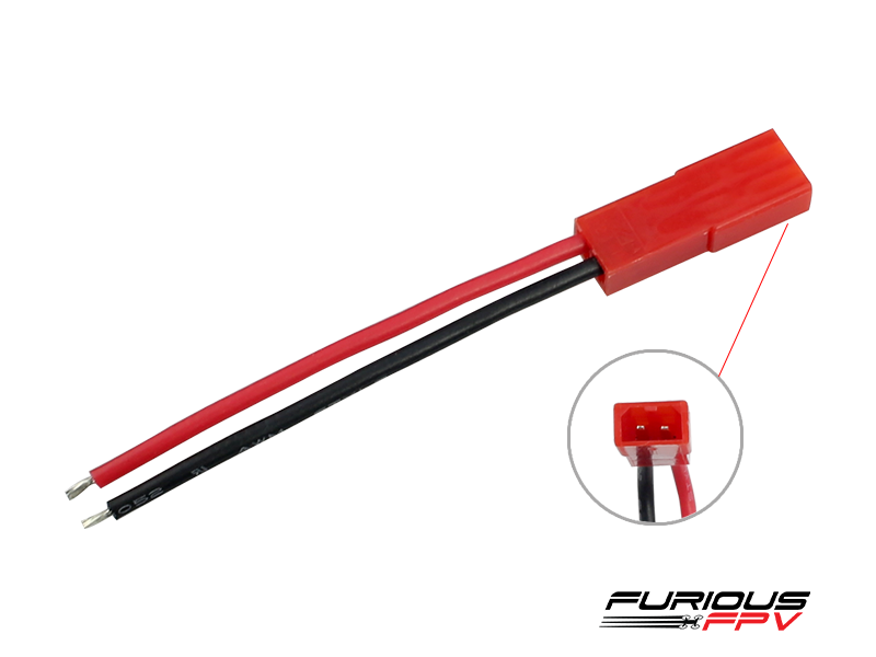 Furious FPV JST battery connector (female-2pcs)