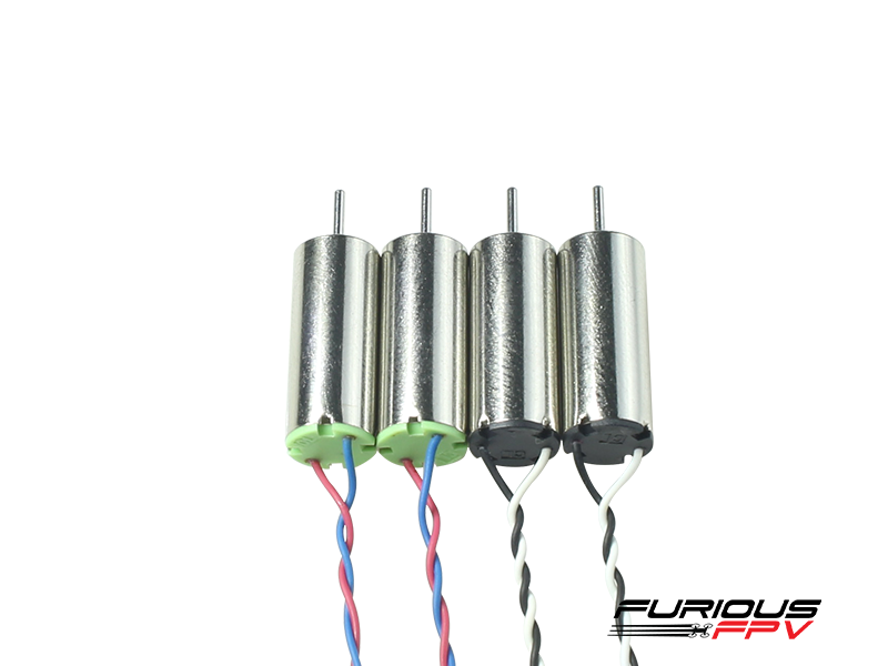 Furious FPV Supersonic 6x15mm 19000KV brushed motors (2CW & 2CCW) for Inductrix