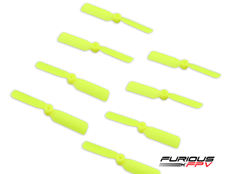 Furious FPV 45mm 2-Blade Propeller (4cw + 4ccw) - Yellow