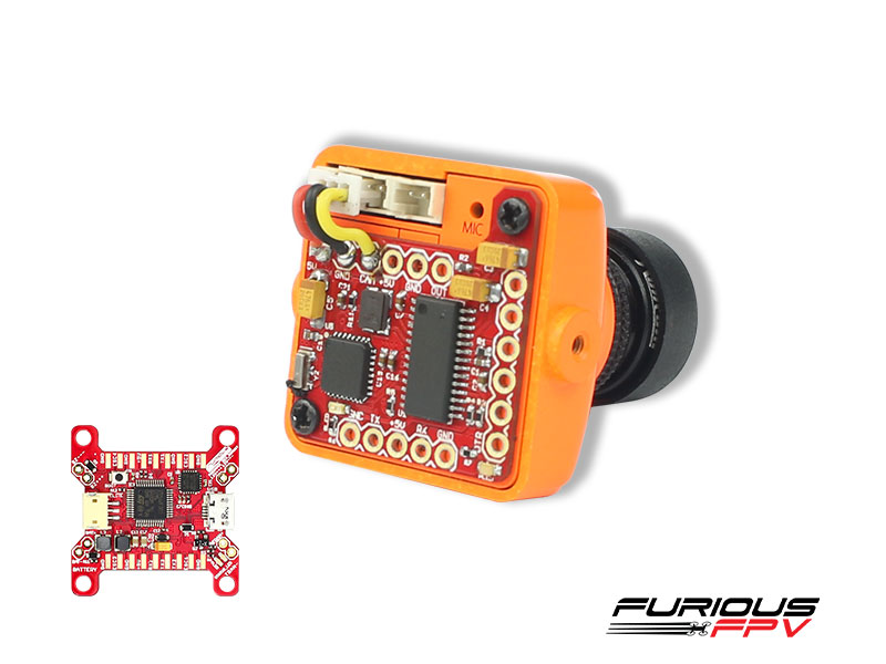Furious FPV PIGGY OSD V2 for Betaflight FC
