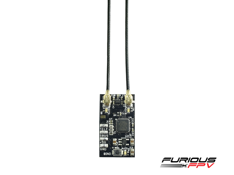 FuriousFPV LR1000 Diversity Mini Receiver for Frsky