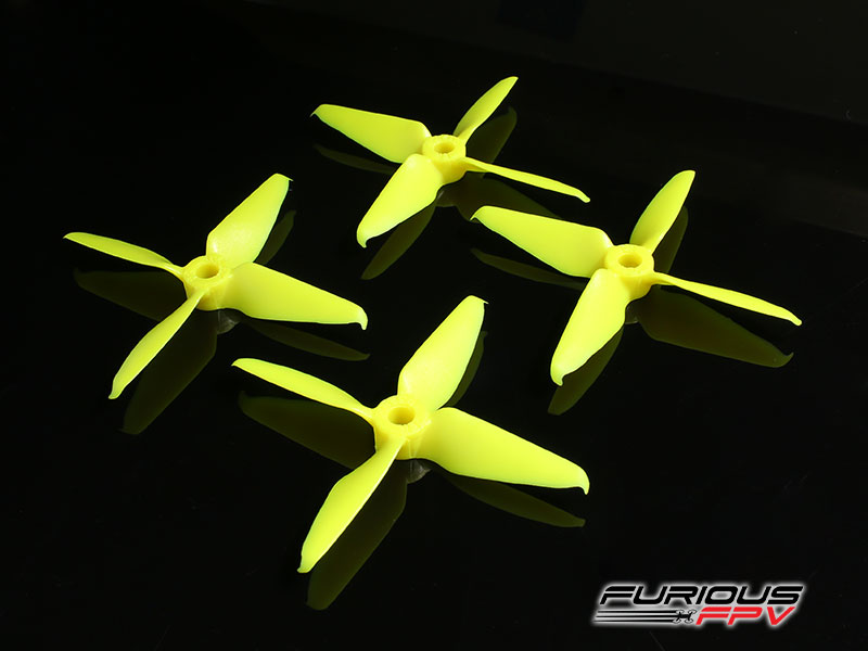 RageProp 3054-4 Race Edition Propeller (2CW - 2CCW) - Yellow