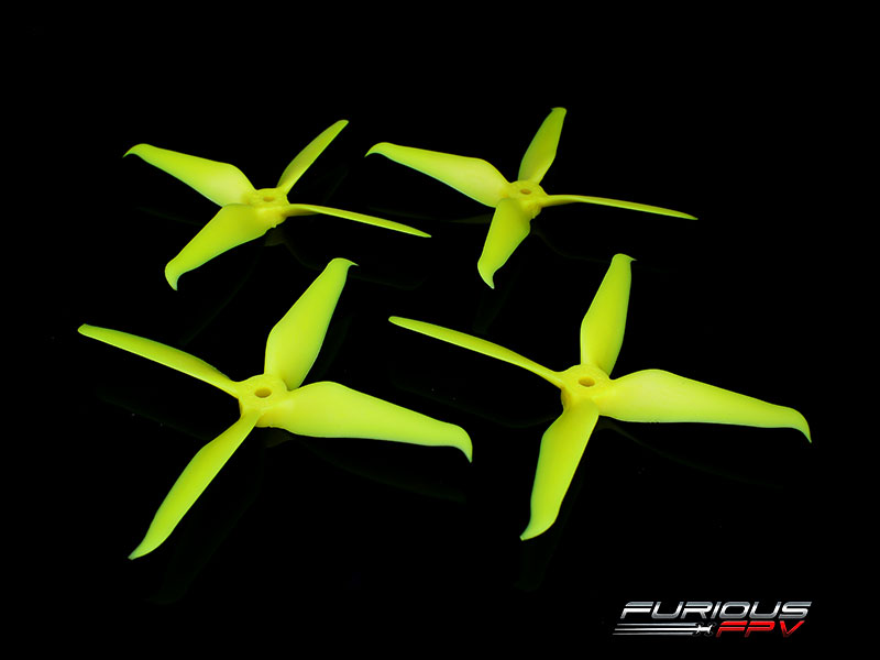 RageProp 5042-4 Race Edition Propeller (2CW - 2CCW) - Yellow