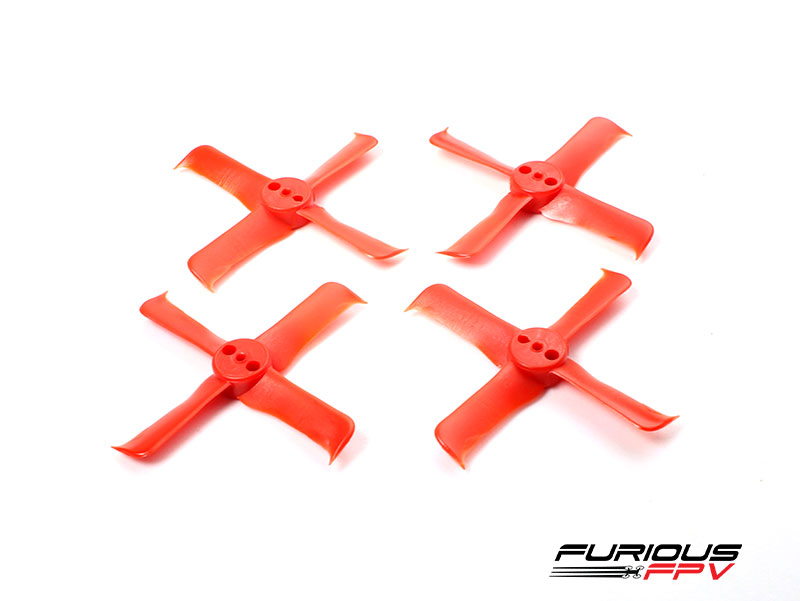 FleekProp 1936-4 Propellers (2CW - 2CCW) - Red