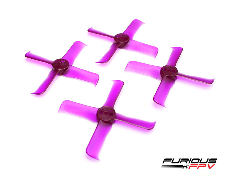 FleekProp 2036-4 Propellers (2CW - 2CCW) - Purple