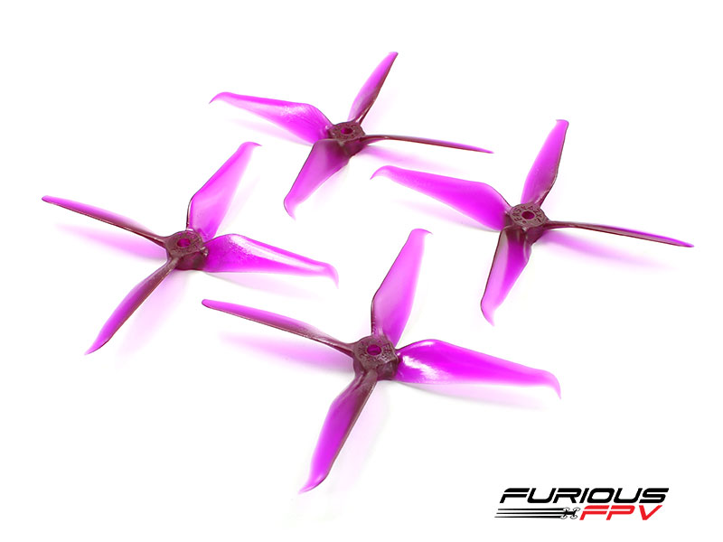 RageProp 5042-4 Race Edition Propeller (2CW - 2CCW) - Purple