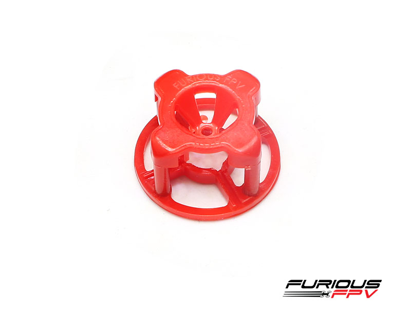 FuriousFPV Antenna Cover - Red (LHCP)