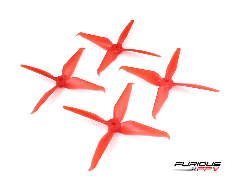 RageProp 5042-4 Race Edition Propeller (2CW - 2CCW) - Red