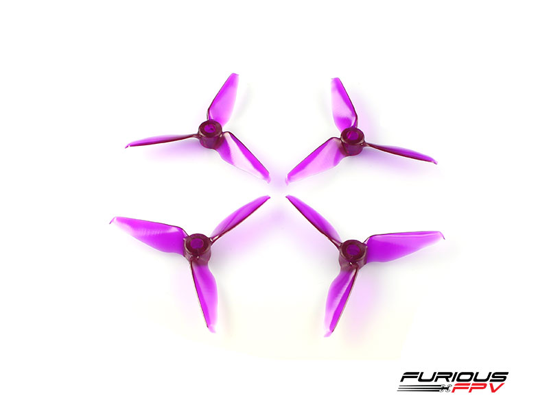RageProp 3055-3 Propellers (2CW - 2CCW) - Purple