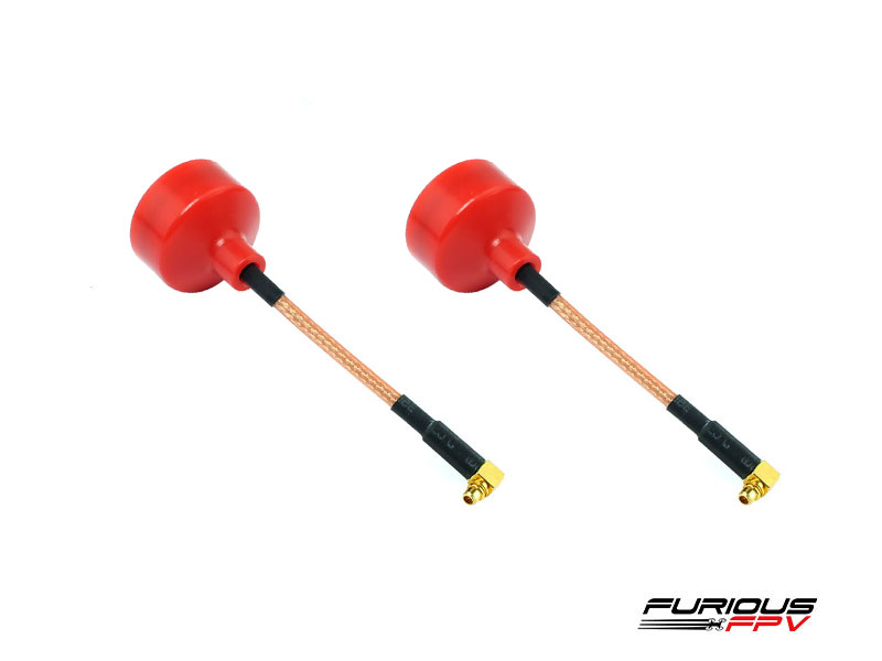FuriousFPV BigMac Antenna MMCX 90 Degree - RHCP (2 pieces)