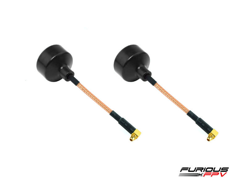 FuriousFPV BigMac Antenna MMCX 90 Degree - LHCP (2 pieces)
