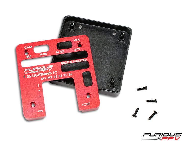 FuriousFPV High-Quality Aluminium Case for F-35 Flight Controller
