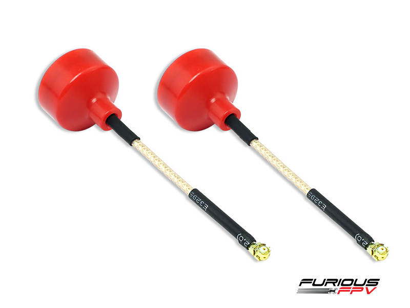 Furious FPV Bigmac 75mm Ufl RHCP (2 pieces)