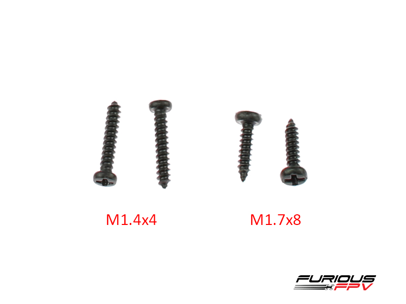 FuriousFPV- Smart Powe Case Screw set