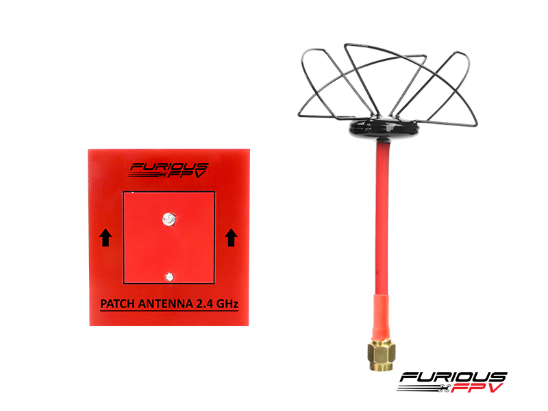 Circular Antenna LHCP 2.4 GHz SMA and Patch antenna 2.4GHz - SMA