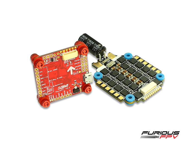 FuriousFPV RacePit and Hobbywing Xrotor 60A ESC combo
