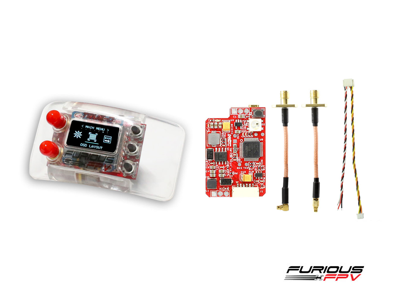 FuriousFPV Combo TrueD 2.4G + VTX Long Range 2.4G - Clarity Redefined