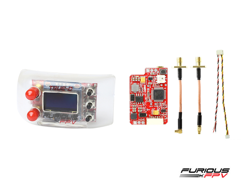 FuriousFPV Combo TrueD 2.4GA + VTX Long Range 2.4G (FatShark Attitude Version)