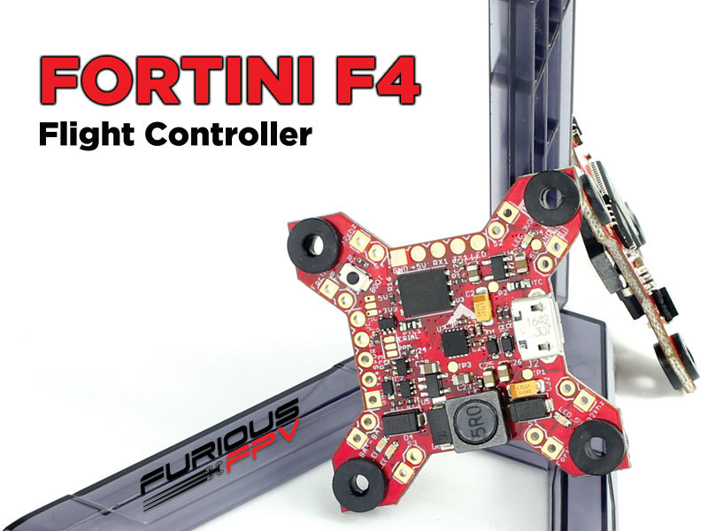 FORTINI F4 32Khz 16MB Black Box Flight Controller