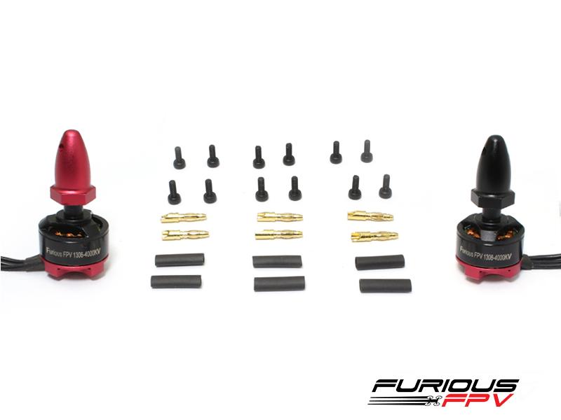 Furious FPV 1306 4000kV Brushless Motors (2pcs, CW & CCW)
