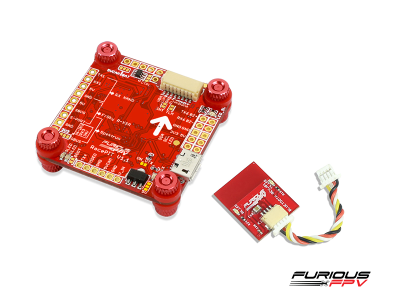 FuriousFPV - RACEPIT OSD Blackbox Flight Controller with Bluetooth module