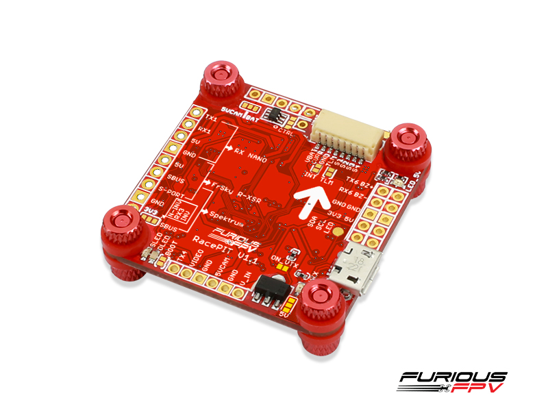 FuriousFPV - RACEPIT OSD Blackbox Flight Controller