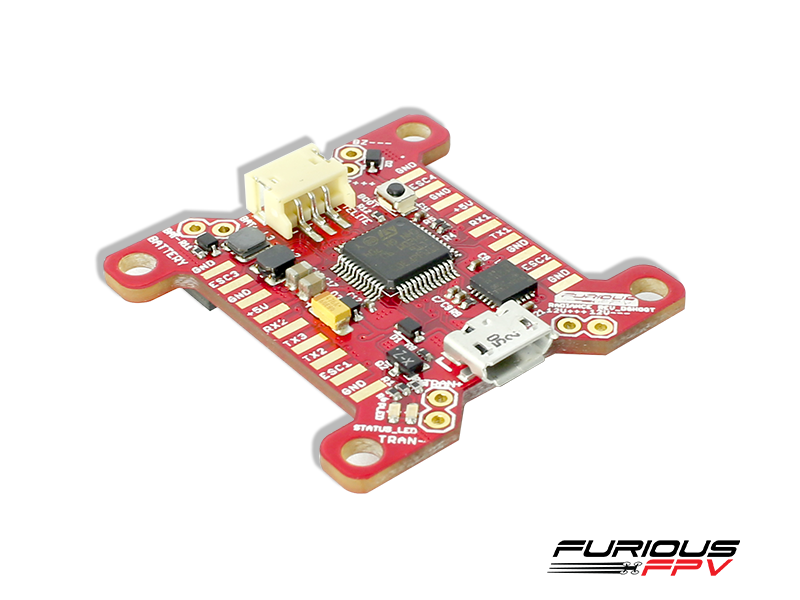 FuriousFPV RADIANCE Flight Controller - DSHOT600 Version