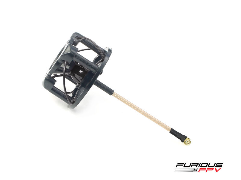FuriousFPV RHCP 48mm Stubby Antenna with Cover - Black