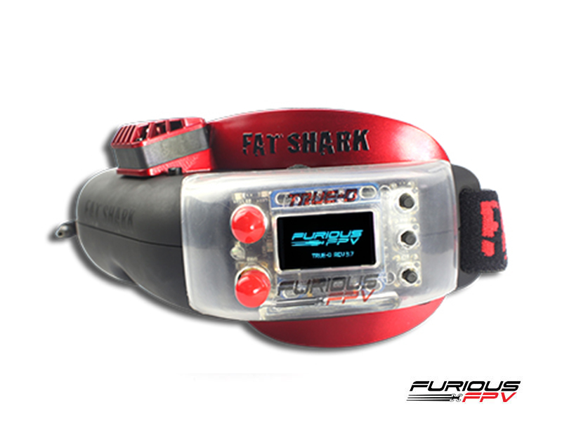 Furious True-D V3.5 Diversity Receiver System Firmware 3.7 (FatShark Attitude Version)