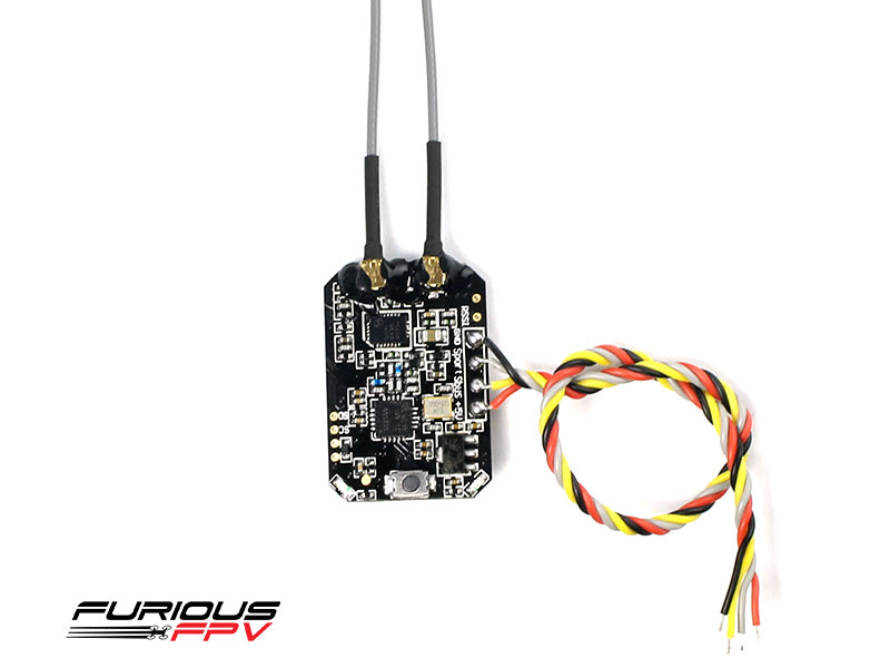 FuriousFPV Full Telemetry S.PORT 1.5KM Diversity Receiver SPD15 - Frsky (INT Version)