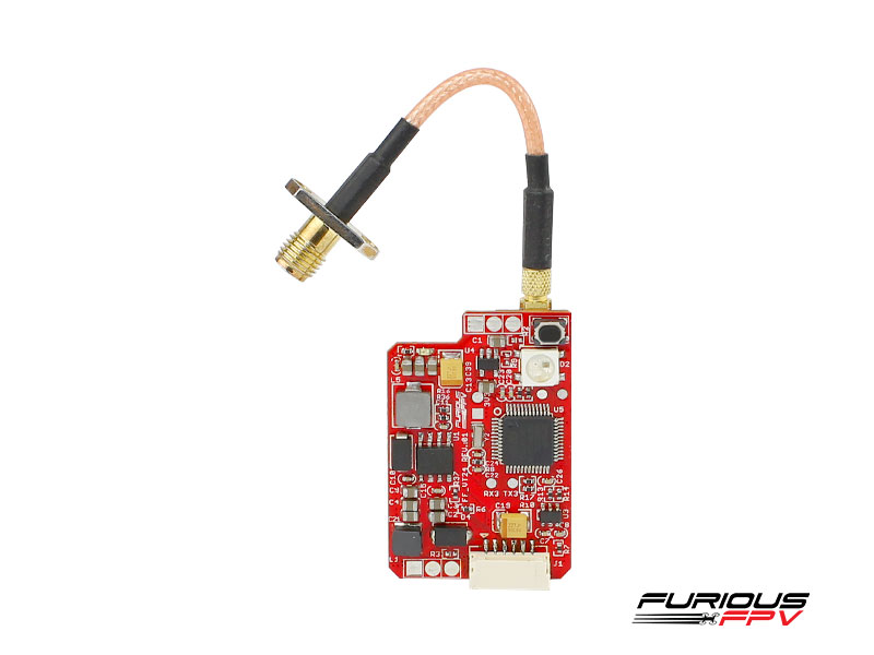 FuriousFPV VTX Stealth Long Range 2.4 GHz 10/25/200/500/800 mW