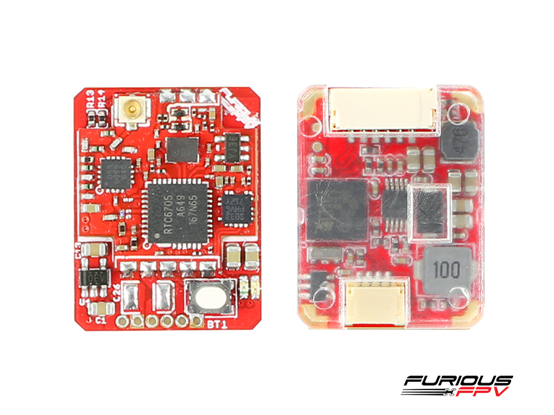 FuriousFPV Adjustable 25/200mW STEALTH RACE VTX V3 with PIT MODE
