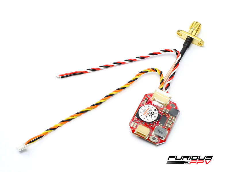 FuriousFPV Adjustable 25/200mW STEALTH VTX RACE with PIT MODE